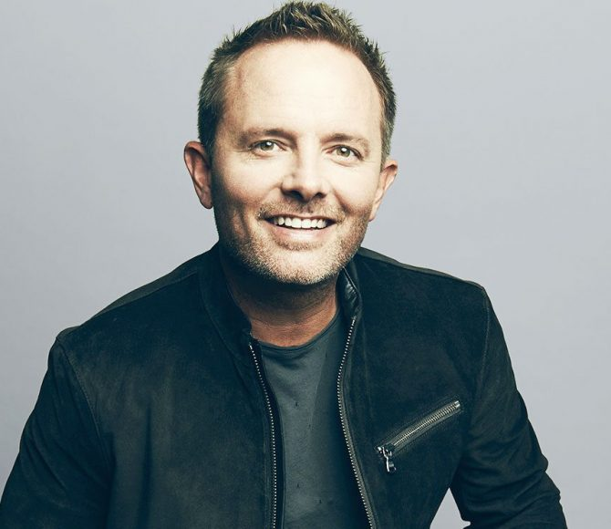 Portrait of artist, Chris Tomlin